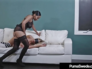 Fucking puma swede - Hot busty blonde puma swede strapon fucked by havanna ginger