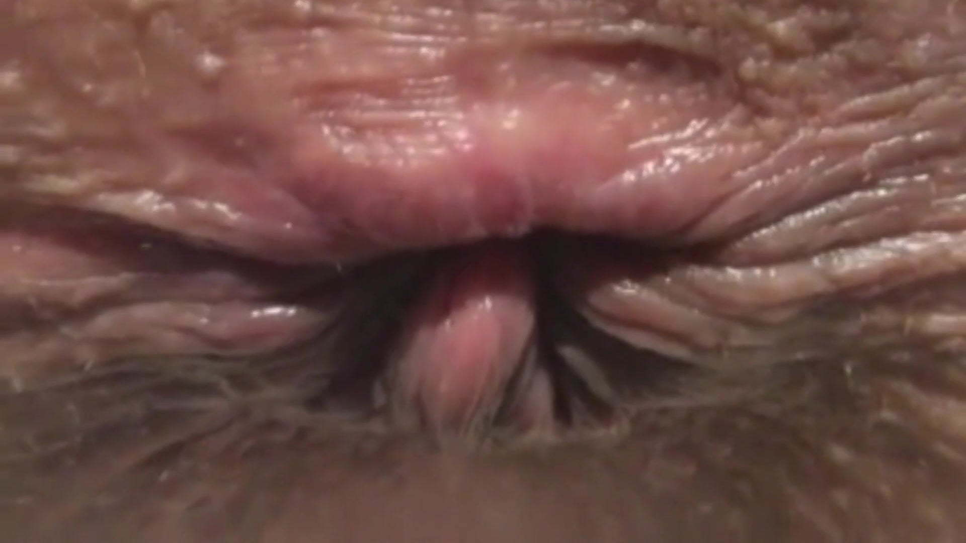 Black Creampie Close Up