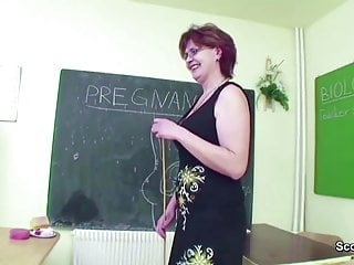 Mature gets fucked by boy toilet Milf biologi techer show boy how to get pregnant with fuck