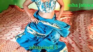 Bhabhi ko dhanni Shari me ramdi ki trha chudai