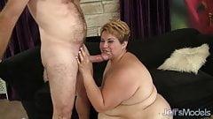 Horny mature BBW Bonita gets fucked hard