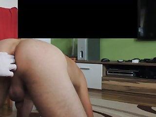Male ass cum - Anal fisting , petting male ass