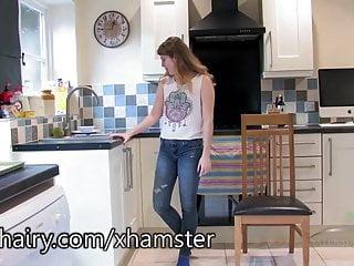 Swingers will jada Jada soaks her hairy pussy in the sink.