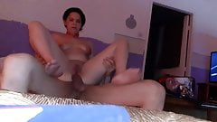 French anal homemade orgasm
