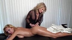 Two MILFs Massage and Cum Together