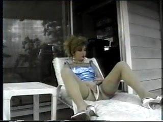 Plump maid cum Plump slut in stockings prepared for ass fucks