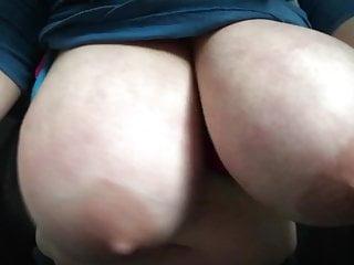 Girl shakes boobs Huge boob drop shaking