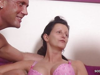 Daugther sexy - German mother teach step daugther and friend to fuck