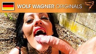 Ashley Cumstar enjoys the taste of his cum! WolfWagner.com