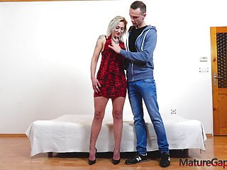 Boy and man anal Blonde milf dp with young boy and fucking machine