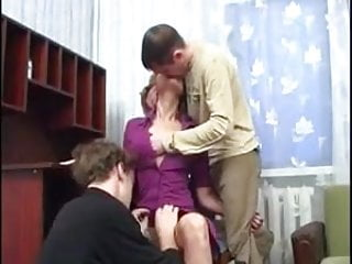 Mature backdoor moms Backdoor moms has anal sex with two young boy