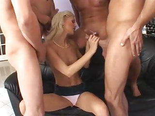 Young boys fuck young girls - Five boys fuck young beautifull blonde