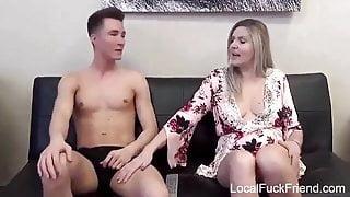 cumming in stepmum's pussy