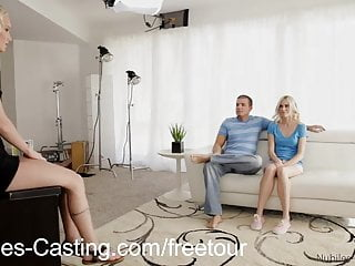 Free tiny tit fuck scene - Nubilescasting first fuck video for tiny tit blonde