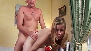 Pretty young french student banged and sodomized