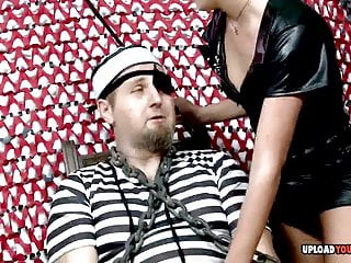 Prince of pleasure - Prisoner gets pleasured by a stunning naughty princes