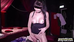 MILF Mara gets a facial on a swinger party - part 1