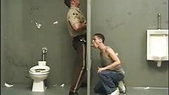 Cop gets a blowjob before arresting the cocksucker