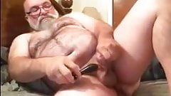 Mature Man Jim Masturbates