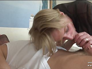 Big boobed blonds - Gorgeous big boobed amateur french blonde hard sodomized