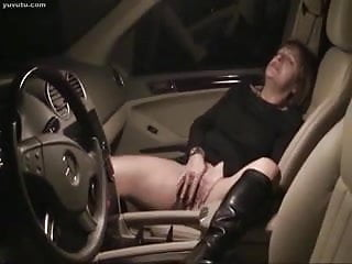 Amature mature xxx vids Amature milf orgasm in the car