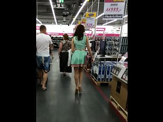 Japanese supermarket upskirt Supermarket upskirt