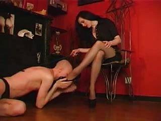 Penthouse powerlock cyberskin 7 inch cock Beauty woman with metal 7 inches high heels doing femdom