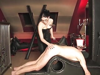 Caning xxx Caned by hot strict mistress