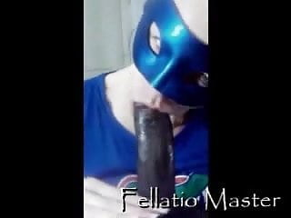 Final fellatio deepthroat Fellatio master - blue mask