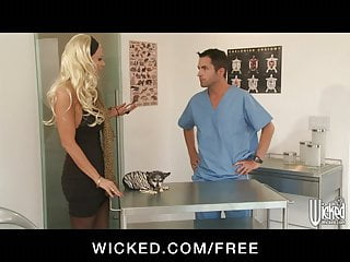 Brittany tit - Wicked - curvy blond milf brittany andrew fucks veterinarian