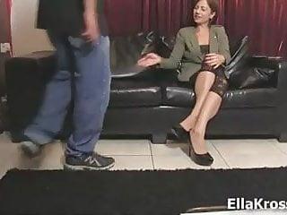 My husband sucks dick - Ella kross:making my husband suck cock