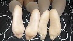 stockings tease