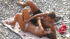 Sex on the beach.Young lovers 2