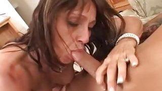 Jillian Slutty MILF Gets Buttfucked By Sons Friend.