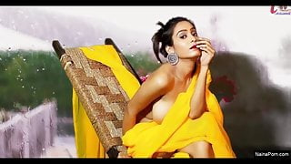 Today Exclusive – Sexy Yellow Saree (2020)