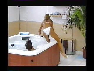 Linda hogan ina bikini Katy hill linda lusardi black white bikinis