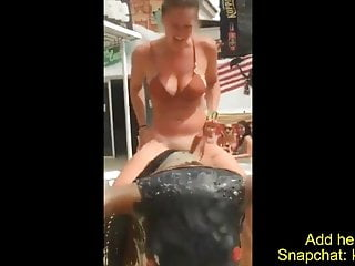 Naked girls showing anus and pussy - Sexy girl looses her bikini-show pussy-naked in public