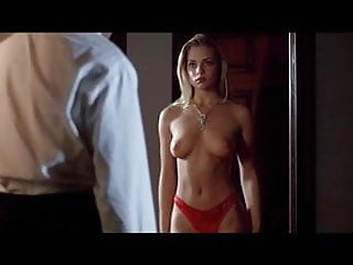 Red ivy transsexual Jaime pressly poison ivy- red dress strip and sex