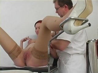 Gynecologist fuck Dirty gynecologist examines and fucks a pregnant patient