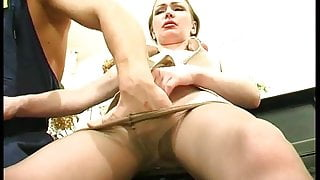 Russian mature M.S.C. #007 - Leila