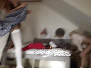 Voyeuring my sister having sex - Teeny tiny voyeurs voyeuring my teen sisters when they party