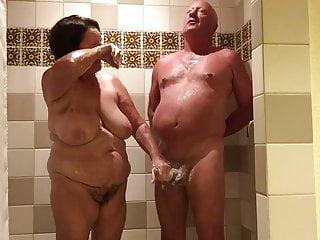 Handjob shower - Shower handjob