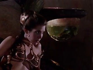Fisher vintage audio Princess leia slave scenes - carrie fisher