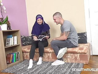 Special erotic handjobs Sexy muslim teacher gives special lesson