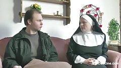 Nun in Love Nylon