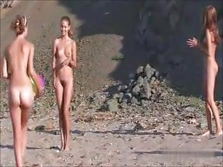 Naturists pre teen Naturist girlfriends
