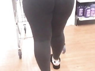Mature see thrus - Vpl black phatty in see-thru tights busted me again 4