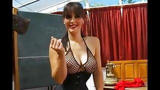 Sexy teacher teases