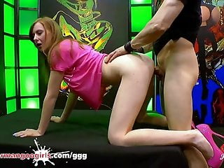 Linda suck fuck swallow Sweet redhead linda needs anal pleasure - german goo girls