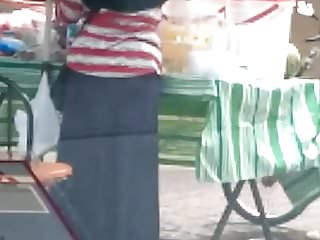 Nude indonesian Hijabi small hip big ass non nude